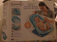 Summer baby bath - blue
