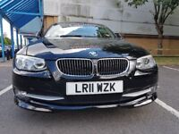 2011 11 BMW 3 SERIES 2.0 320D 2D AUTO 184 BHP CREAM LEATHER DIESEL XENON HDL - PRIVATE OWNED