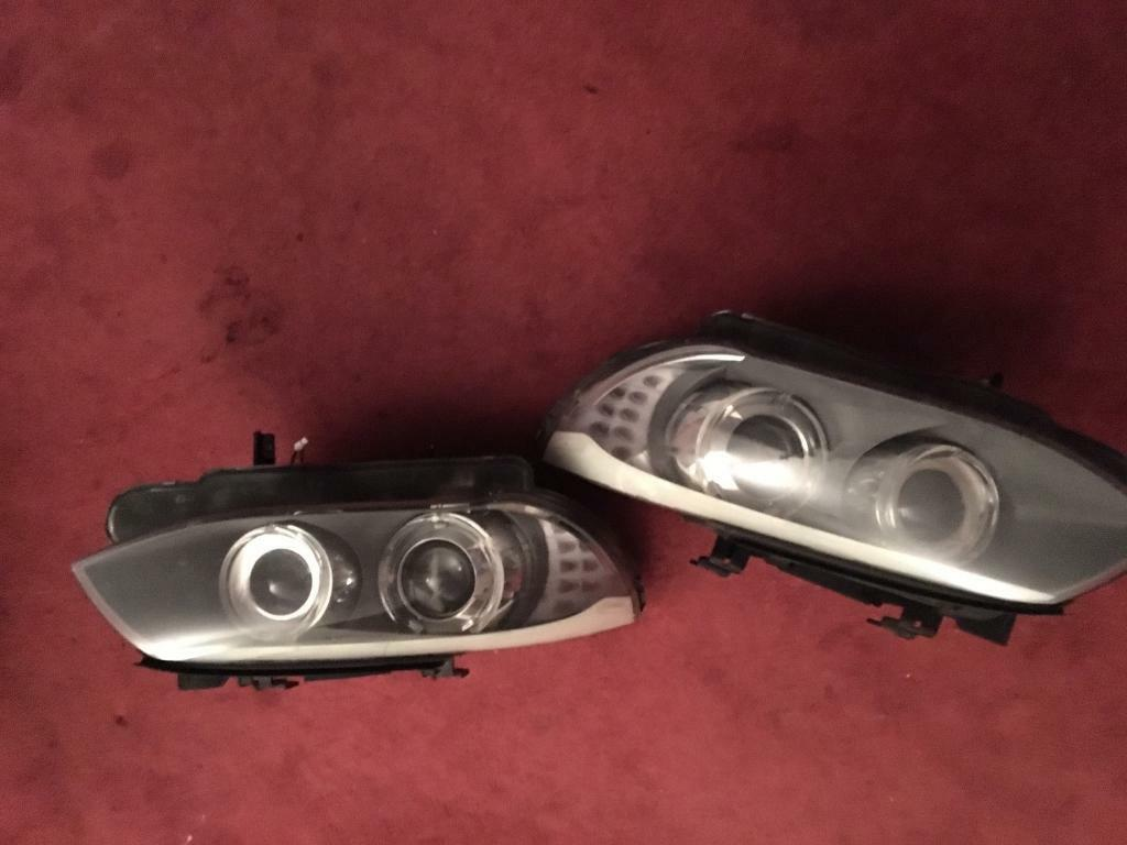 BMW 3 series headlights 2012