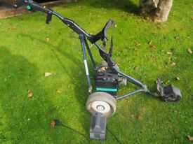 PowaKaddy folding electric golf trolley