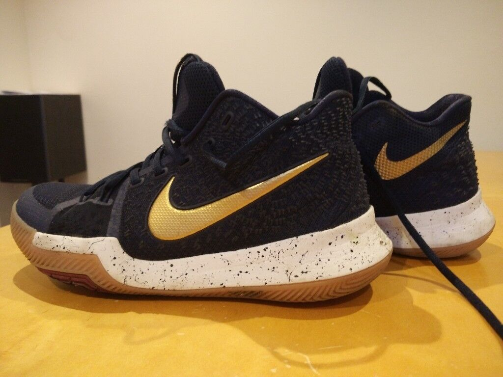 9d0f80165531 germany nike kyrie 3 navy gold basketball boots uk size 6.5 in cambridge  cambridgeshire gumtree e05dd