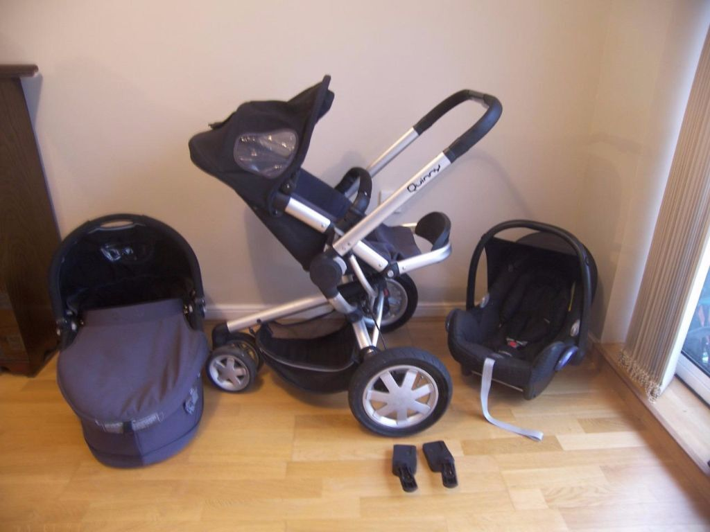 quinny buzz 3 rocking black travel system pushchair dreami carrycot and maxi cosi cabriofix car. Black Bedroom Furniture Sets. Home Design Ideas