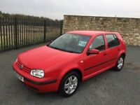 2003 53 VOLKSWAGEN GOLF MATCH 1.4 5 DOOR HATCHBACK - *LOW MILEAGE* - OCTOBER 2018 M.O.T!!