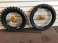 Ktm 85 s/w talon wheels