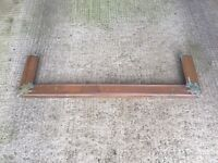 Antique Copper Fireplace Fender