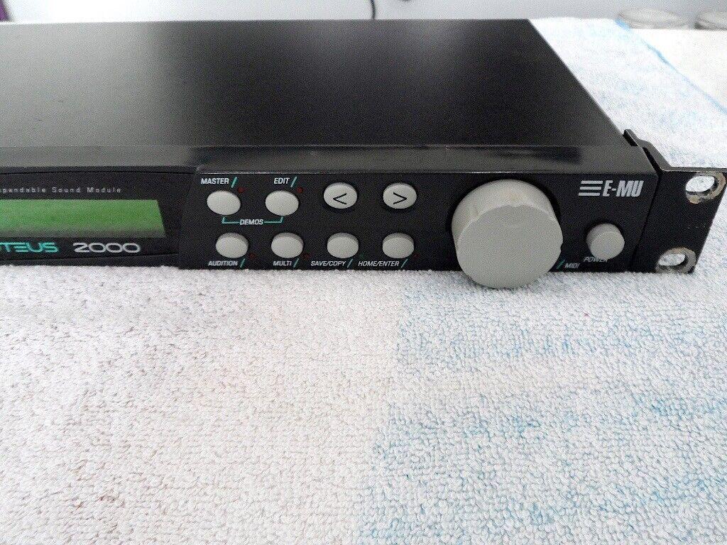 EMU Proteus 2000 Midi Sound Module Rack Synthesizer | in Wigan, Manchester  | Gumtree