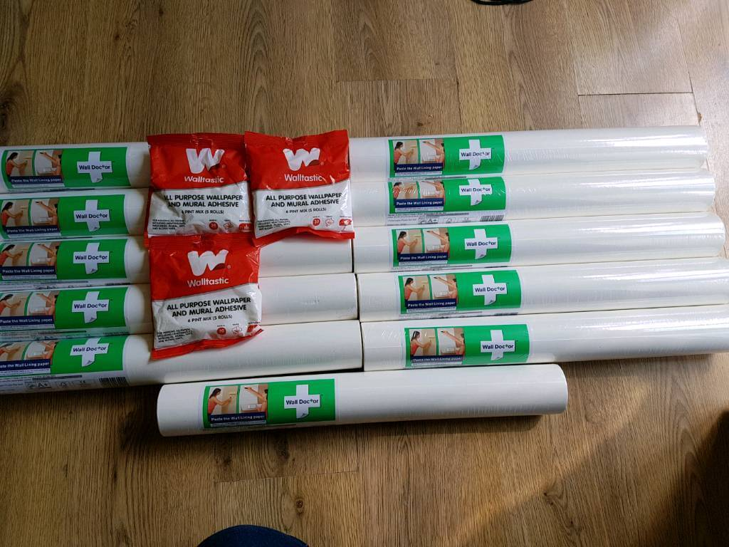 Wall Doctor Lining Paper X 10 And 3 Bags Paste In Long Stratton Norfolk Gumtree
