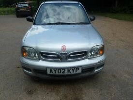 Silver Nissan Micra 1.0 Excellent runner, reliable,