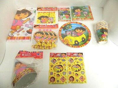 Dora The Explorer Cups (DORA THE EXPLORER PARTY SUPPLIES - TABLECOVER, CUPS, PLATES, ETC - YOU PICK )