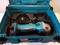 MAKITA DGA452RMJ 18V Cordless Li-Ion Angle Grinder , BODY & CASE ONLY.