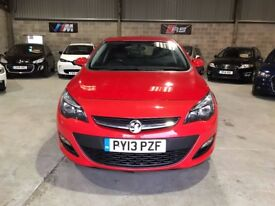 13 PLATE - 2013 - Vauxhall Astra 1.7 CDTi ecoFLEX 16v Exclusiv 5dr (start/stop)