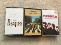 Original cassette tapes - Beatles - 20 Greatest /Abbey Road / Rock&Roll vol 2