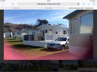 Caravan to hire in Nefyn near Abersoch