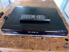 TOSHIBA DVB,DVD,HDD PLAYER.WITH REMOTE