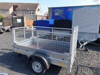 BRAND NEW MODEL 6X4 WITH 60CM MESH AND RAMP TRAILER