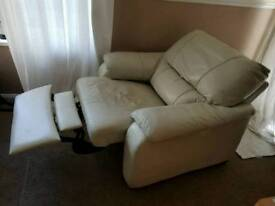 2 +1 leather sofa