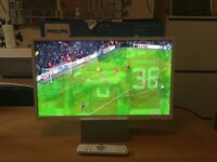 """Brand New Phillips Ultra Slim 24"""" LED HD TV/Monitor in White with Bluetooth"""