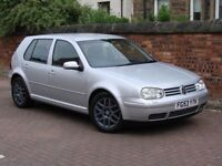 RARE MODEL!! 53 REG VOLKSWAGEN GOLF 1.8 T GTI 5dr, FULL LEATHER, 1 YEAR MOT, FSH, AA WARRANTY