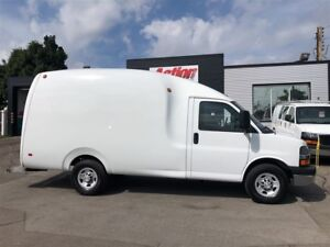 2015 Chevrolet Express 3500 BUBBLE VAN! rare!