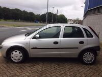 vauxhall corsa diesel 5 Dr, very cheap on diesel, low mileage, price £850