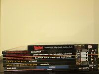 2000 AD Graphic Novel 8 Comic Books Shakara Wardog Raindogs Lobster Random Carver Hale Judge Dredd
