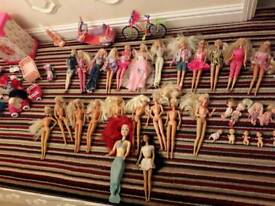 Barbie/Sindy doll job lot