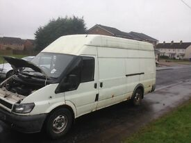 Ford transit jumbo 2.4TD breaking! All parts available, van not for sale. Kilmarnock £1