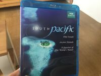 BBC South Pacific BLU RAY narrated by Benedict Cumberbatch