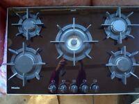 Miele 5 burner gas Hob KM371 G