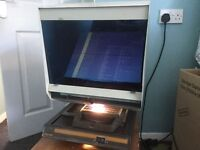 Microfiche Reader. In working order. Used.