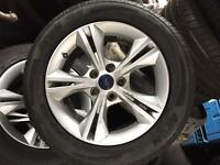 Ford Focus 2014 onwards alloy wheels