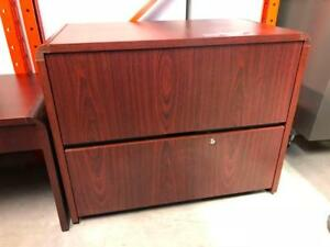 2 Drawer Lateral Laminate Filing Cabinet - $75.00
