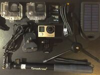 GoPro HERO4 Silver Plus Accessories, inc. 64gb memory card and spare battery