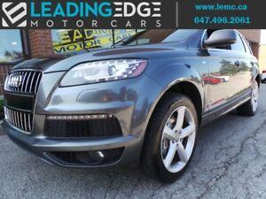 2012 Audi Q7 3.0 TDI Premium S-Line TDI 7 Seater