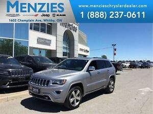 2015 Jeep Grand Cherokee Overland, ONE OWNER, Nav, Bluetooth