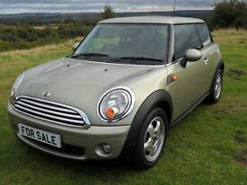 2007 Mini Cooper 1.6 Petrol 3 Door Hatchback.