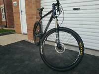 Cannondale Trail SL3 2011 with fox forks