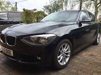 BMW 116i 2012 5 door Sport Low Mileage Metallic Black