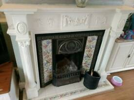 Lovely wooden fire surround