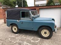 1971 Land Rover Series 2a Tax Exempt Diesel