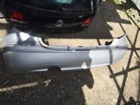 MERCEDES A CLASS W169 REAR BUMPER COMPLETE FOR SALE SILVER CALL FOR ANY PARTS