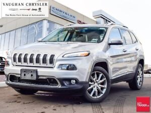 2018 Jeep Cherokee Limited * Leather * Navigation * Only 6071 km