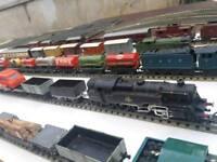 Hornby and Hornby Dublo trains big bundle.