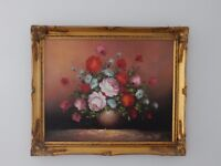 VERY GOOD QUALITY STILL LIFE OIL PAINTING - NICELY FRAMED
