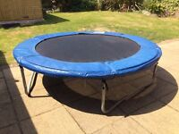 Body Sculpture 8ft Trampoline with Weather Cover - Boxed VGC