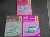 HAYNES MANUALS X 3 AS SHOWN ALL 3 FOR £10 .
