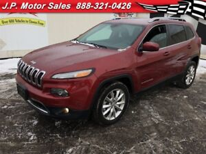2016 Jeep Cherokee Limited, Leather, Heated Seats,  Only 6,000km