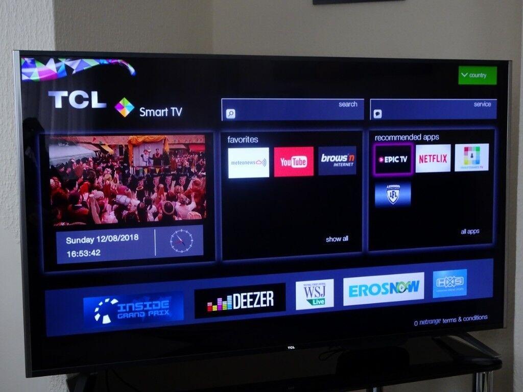 55 UHD 4K Smart LED TV | in Dartford, Kent | Gumtree