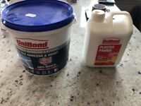 Unibond Tile Adhesive and Grout, and Unibond Plaster Primer - Both Unopened