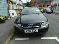 urgent audi a4 for sale good price ONLY 500 (NEGOTIABLE) good run full history has mot and tax road